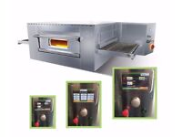 Brand NEW Italian electric Conveyor Belt pizza oven ventilated static touchscreen digital interface