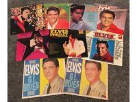 A COLLECTION OF 9 ELVIS PRESLEY VINYL ALBUMS