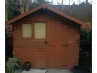 Attractive looking shed 8 x 6. Buyer collects and dismantles.