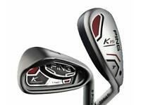 Ping K15 Iron Set + Hybrid 4