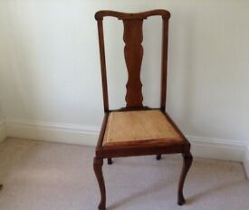 Antique wooden chair Renovation project