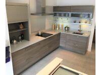 n-toto Ex Display Alno Kitchen, Silestone Worktop and Neff Appliances