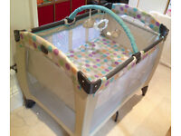 Graco Contour Electra Travel Cot with extra foam mattress