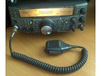 Kenwood TS-2000 Amatuer radio transceiver.