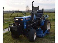 Iseki Diesel HST Ride on Mower tractor 4WD