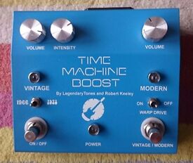Robert Keeley Time Machine Boost Pedal