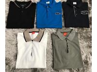 Men's bundle of polo tops for all £10 each size large & new without tags