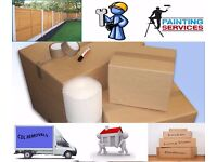 The services we offer Handyman , Painting and decorating , Fencing , Turfing , Removal
