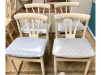 Set of 4 chairs. CHRISTCHURCH