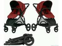 Pram, car seat and isofix base
