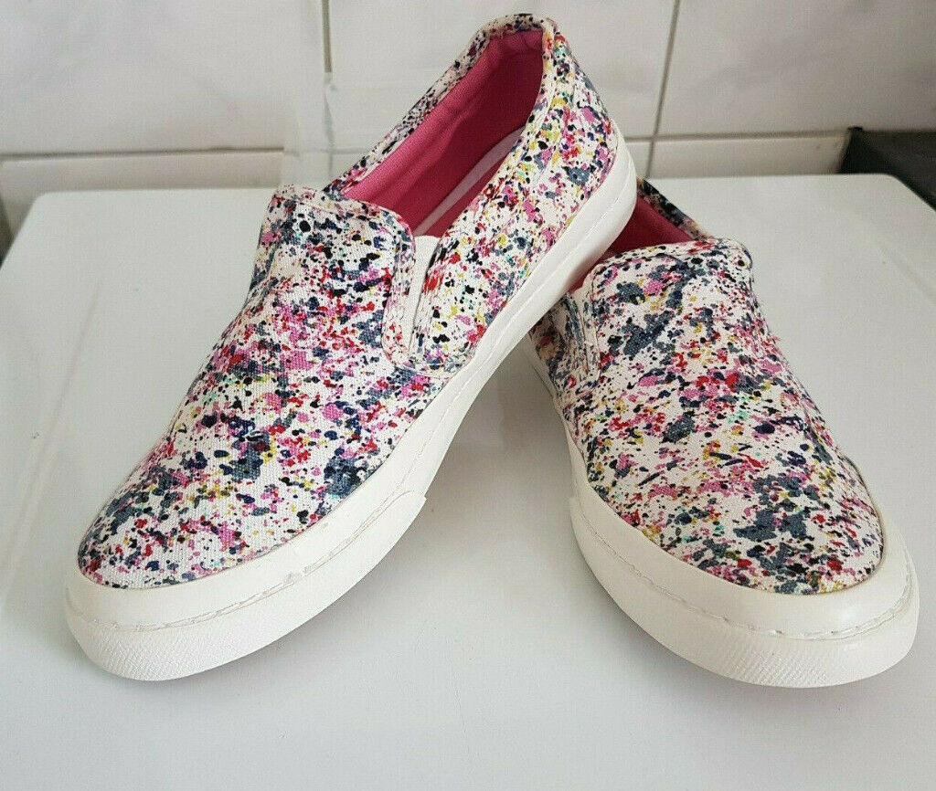 reliable quality beauty save off FatFace ladies slip on trainers size 5 like new | in Totton, Hampshire ...