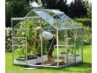 Vitavia Greenhouses supplied by Millbank Sectional Buildings, Nationwide