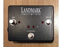 Tech 21 Landmark 600 Footswitch, new and boxed
