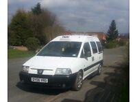 2006 Peugeot Expert e7 hackney taxi