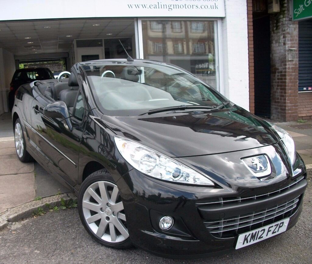 2012 peugeot 207 cc automatic,convertible,very low miles,full