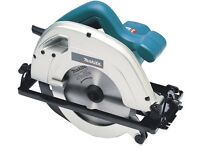 Makita circular saw with box
