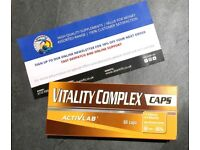 ACTIVLAB Vitality complex 60 tabs - great daily vitamins! for men and women!