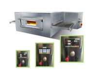 Italian electric Conveyor Belt pizza oven ventilated static touchscreen digital interface Warranty