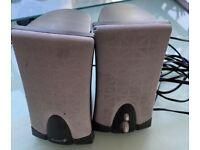 Free PC speakers with EU plug