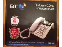 Bt phone with answer phone and nuisance call blocker
