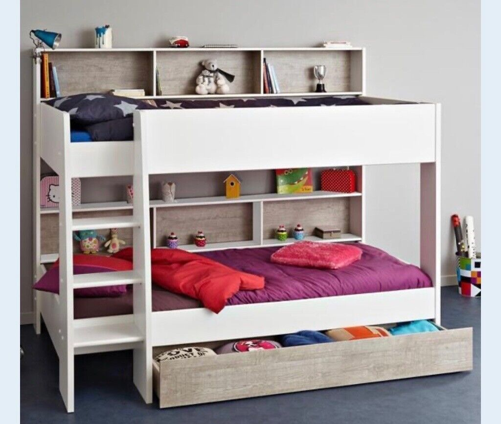Parisot Tam Tam Kids Bunk Bed White And Grey In Waterlooville Hampshire Gumtree