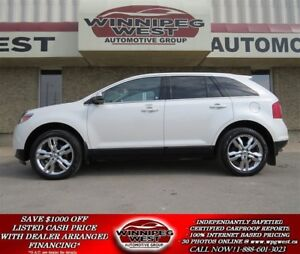 2013 Ford Edge LIMITED AWD, LEATHER, PAN ROOF, NAV, LOCAL TRADE!