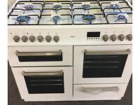 New range cooker 8 hob 100cm duel fuel
