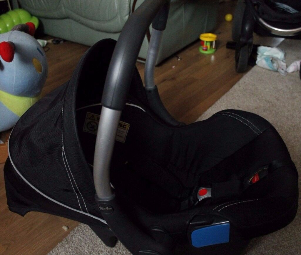 SILVER CROSS VENTURA PLUS BABY CAR SEAT GOOD CONDITION
