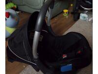 SILVER CROSS VENTURA PLUS BABY CAR SEAT GOOD CONDITION