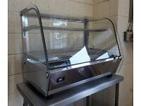 Buffalo Heated Display Merchandiser 160Ltr CD232 PIE WARMER HOT DISPLAY