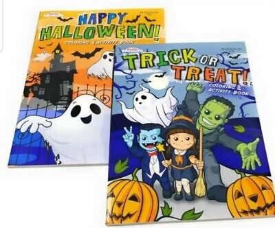 Activities For Halloween (Coloring Books for Kids Happy Halloween Trick or Treat Toddlers Activity Book)