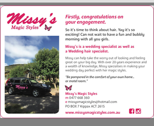 Missy's Magic Styles Holt Belconnen Area Preview