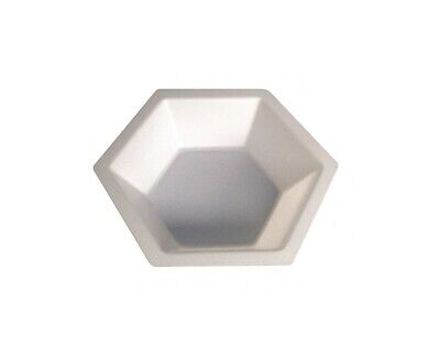 Lab Safety Supplies 50ml White 3-12l X 34 D Hexagonal Weighing Dish Qty 500