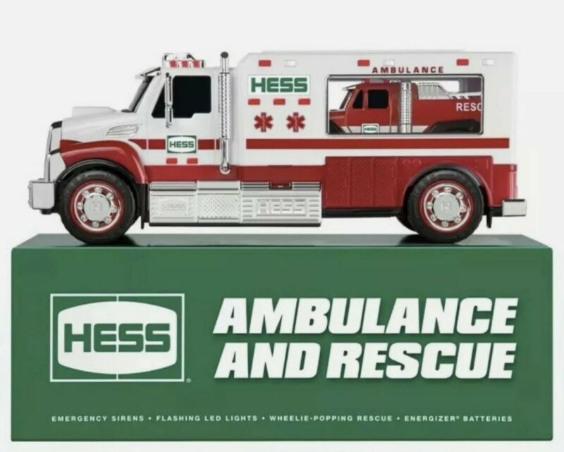 2020 HESS TOY TRUCK AMBULANCE AND RESCUE BRAND - NEW IN BOX