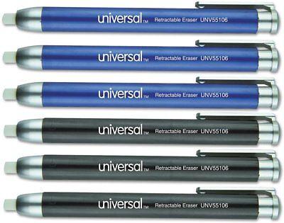 Universal Office Products Unv55106 Pen-style Retractable Eraser Blueblack