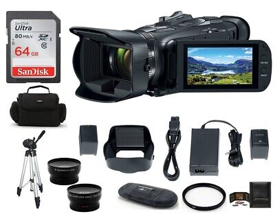 Canon VIXIA HF G50 Full HD Camcorder 64GB Bundle - Canon Authorized Dealer!