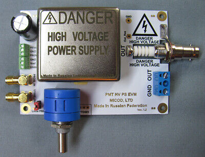 High Voltage Power Supply For Photomultiplier Pmt Or Ionization Chambers