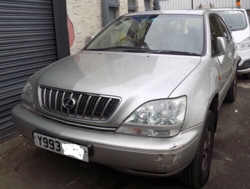 LEXUS RX 300 2001 3.0 PETROL AUTO BREAKING FOR PARTS ONLY ENGINE CODE 1MZ1126789