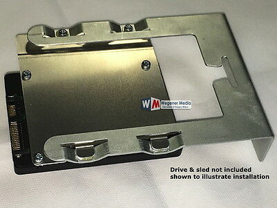 Mac Pro SSD HDD 2.5 to 3.5 Drive Sled adapter, Drive bay caddy, MacPro Tower NEW, used for sale  Shipping to South Africa