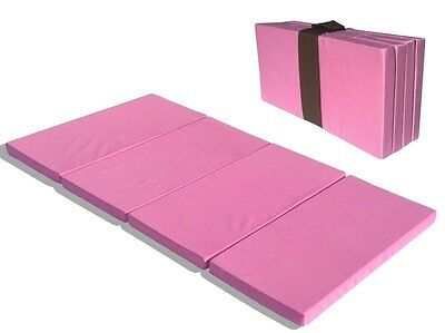 MamaDoo Kids Foldable Sleep Mat for Baby's and Children Pink  #1