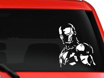 IRONMAN AVENGER vinyl decal car bumper sticker marvel comic book superhero decor](Superhero Decor)