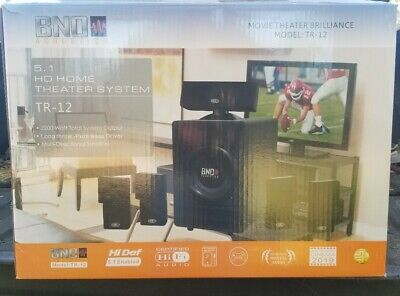 BNO Acoustics TR-12 Home Theater System Brand new Free Shipping