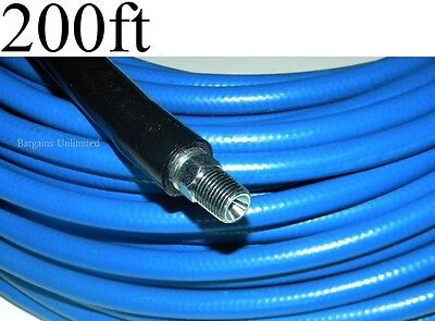 Carpet Cleaning 200ft Truckmount High Pressure 3000 Psi Solution Hose