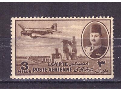 FRANCOBOLLI Egitto Egypt 1947 Posta Aerea Serie Ordinaria 3 m. MNH** YV30