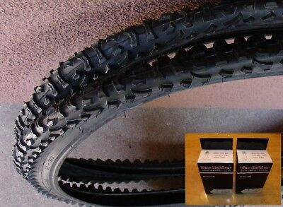 "Vee Rubber Tire 26 x 2.35/"" Cruiser Chopper Lowrider Flame Tread All Black"