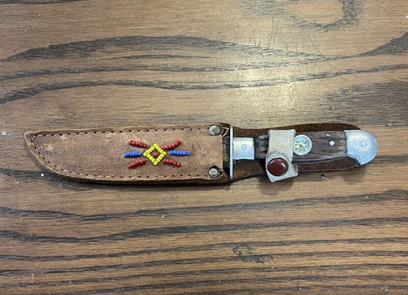 native american knife antique
