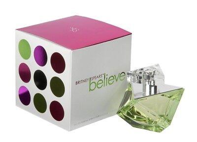 Believe by Britney Spears 3.4 / 3.3 EDP Perfume NEW IN - Britney Spears 3.4 Edp