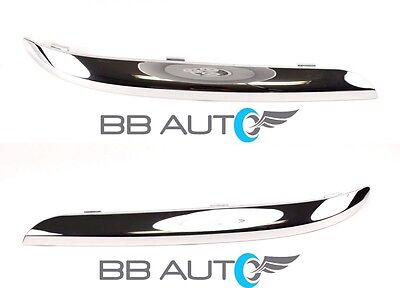 FOR 2011-2014 CHRYSLER 300 FRONT BUMPER MOLDING CHROME TRIM LH