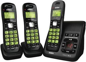 NEW Uniden Cordless Phone Triple Pack DECT1635+2