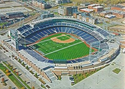Creighton University Bluejays Td Ameritrade Park Omaha Baseball Stadium Postcard